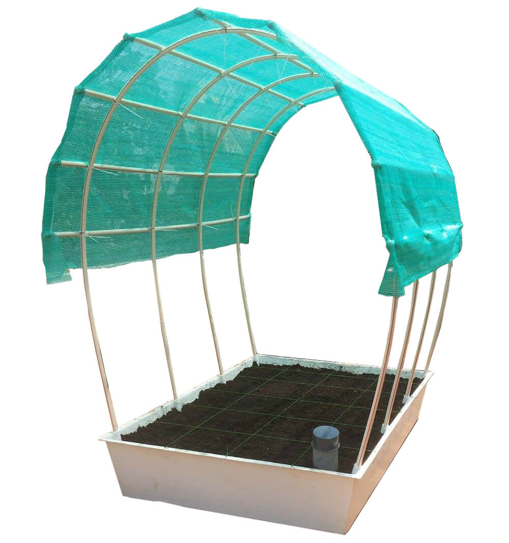 Complete self watering organic terrace gardening kit in India by GreenTech Life